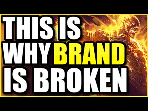 (BROKEN DAMAGE) *THIS* IS WHY BRAND IS THE #1 SUPPORT IN SEASON 11! BEST BRAND BUILD AND STRAT!