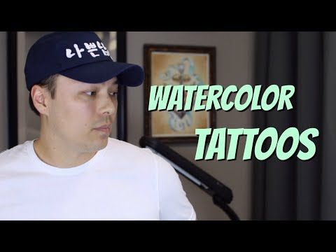 Let's Talk About Watercolor Tattoos