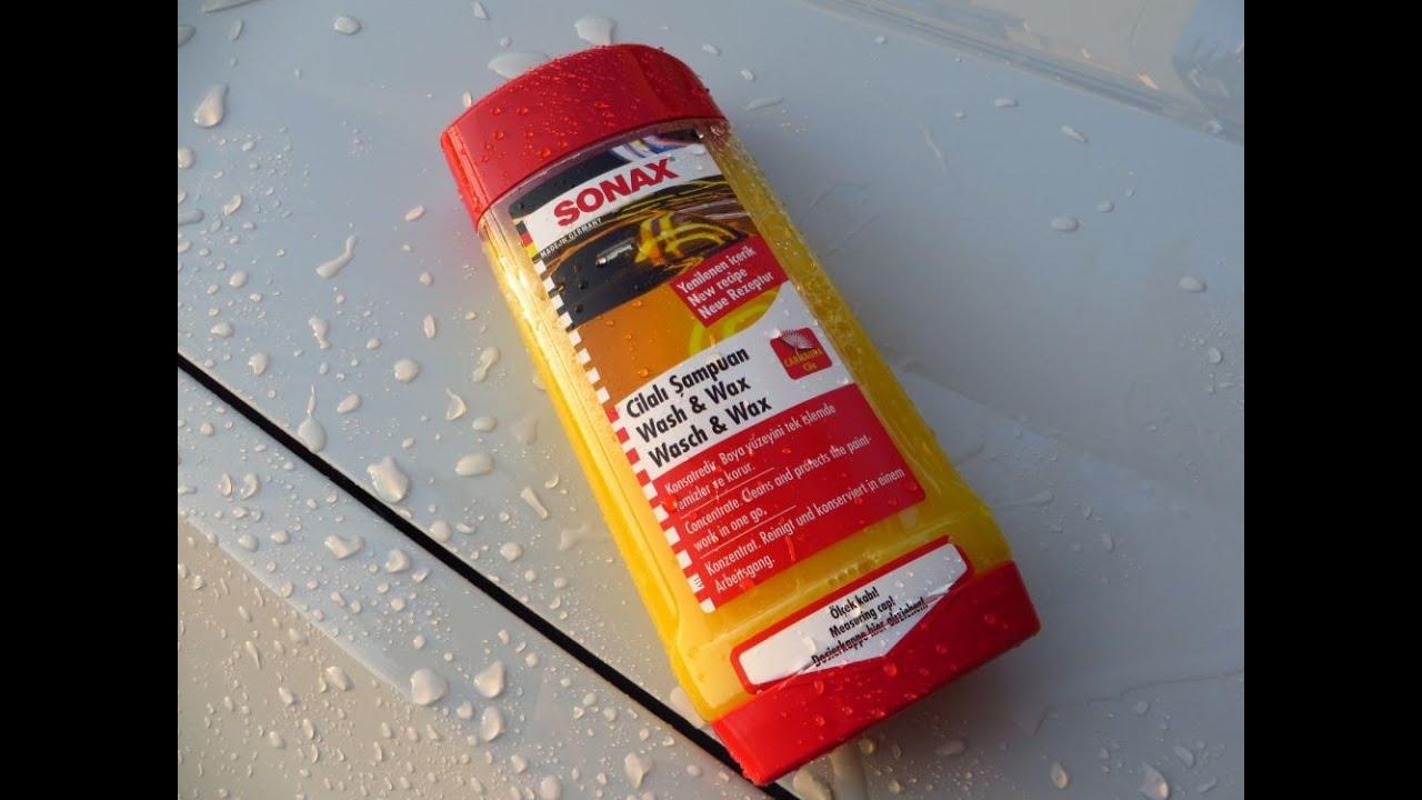 sonax wash wax shampoo new recipe youtube