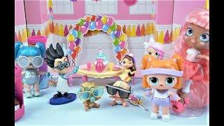 Dolls #partypopteenies. Ляльки в хлопушках POP PARTY TEENIES.クロエ人形. Розпакування 9