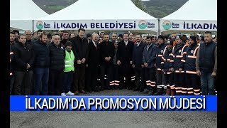 Samsun'da belediye çalışanlarına promosyon müjdesi