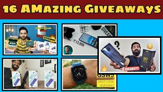 #Giveaway Technical Guruji Poco M2 pro Giveaway , Tech Bar Poco M2 pro ,More Giveaways