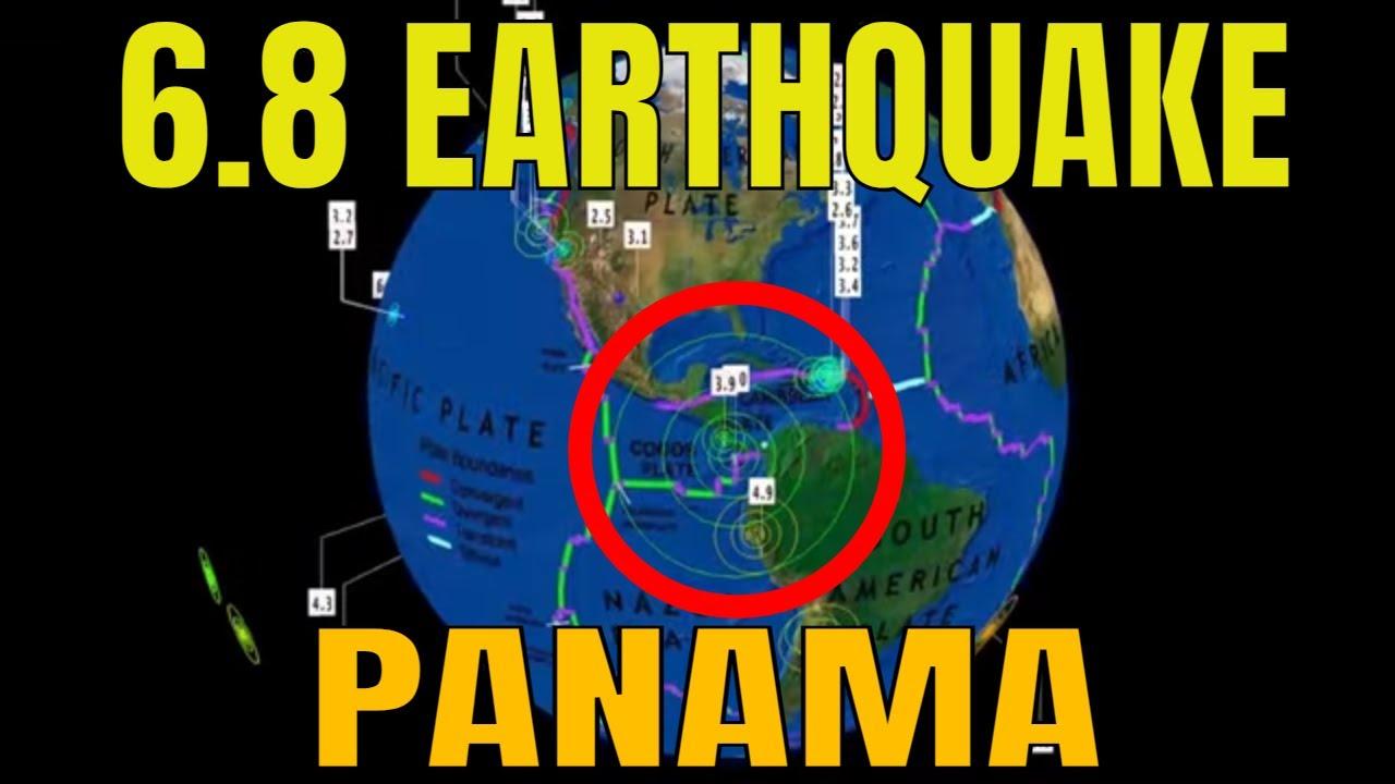 //ALERT\\ 6.8  Earthquake Panama / 6.0 Earthquake Papua New Guinea / July 21, 2021