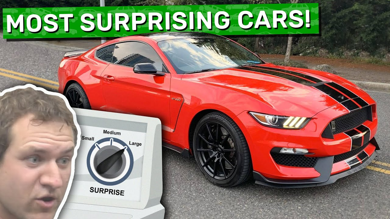 Here Are the 12 Most Surprising Cars I've Ever Reviewed