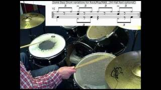 19 blues drum shuffles from Brookie's Shuffle Thesaurus 1-19. Blues drumming lesson tutorial