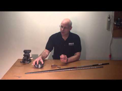 How To Assemble A Custom Golf Club Part 2 - Test Fitting Golf Components