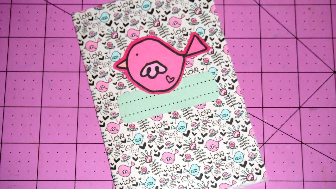 How To Make A Mini Sticker Book Kids Crafts Diy Tutorial Guidecentral