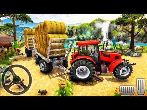Hill Cargo Tractor Trolley Driver Farming Simulator 2019