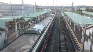 由利本荘 列車発車 羽越本線