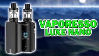 Vaporesso Luxe Nano | Kleİnes Kit für viel Dampf und Geschmack