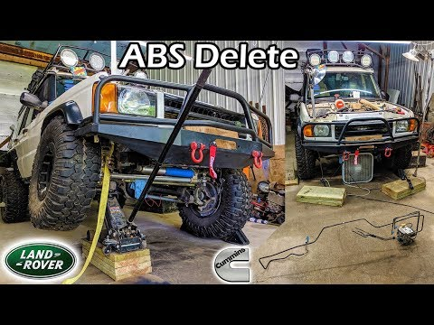 4BT Cummins Discovery #36 × ABS Delete (Land Rover Discovery 2)