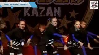 TODES fest KAZAN 2018 Студия Пермь, Батл, гр 3, online-трансляция