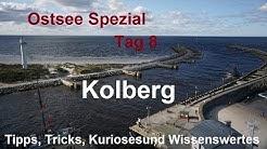 ✈️Ostsee Spezial Tag 8 -  Kolberg Seebrücke Hafen Leuchtturm Mole Kolobrzeg Polen Polski