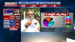 BJP Leader K Laxman Face to Face after Bihar Election Results | HMTV