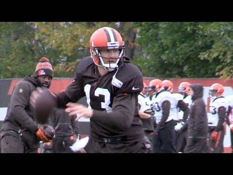 Josh McCown heading toward starting Sunday for Browns