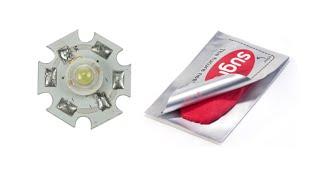 Cyrob: Led + Sugru = Super Ampoule Pour Flasheur De Portail