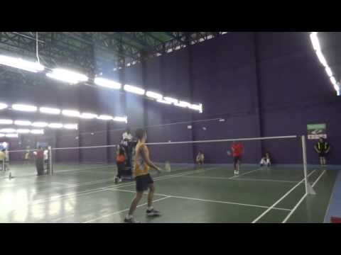 Final match 1st game point of sports carnival Asia pacific university Malaysia 2013