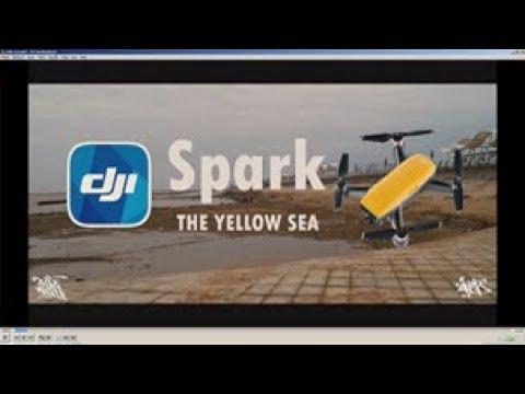 DJI Spark/beside the Yellow sea