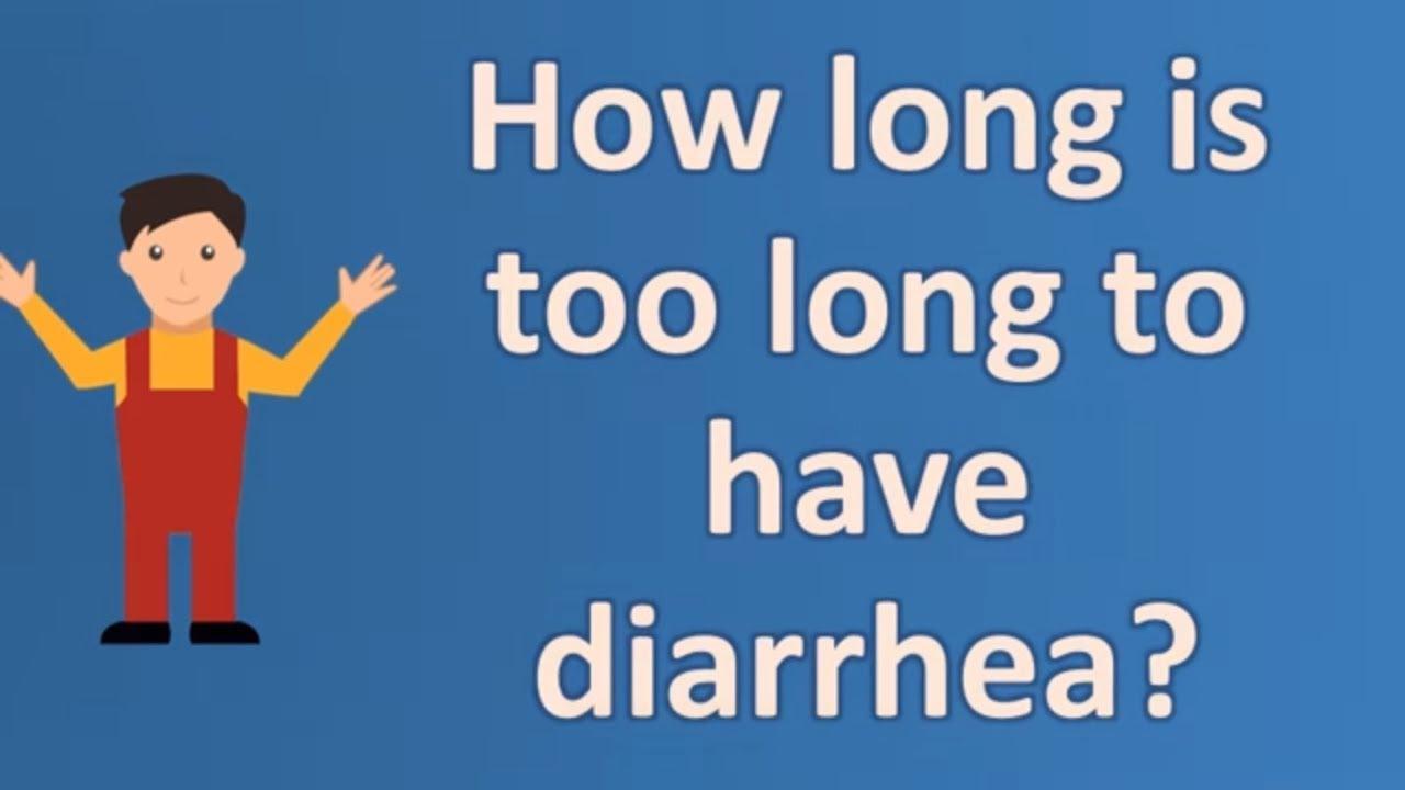 I Have Diarrhea