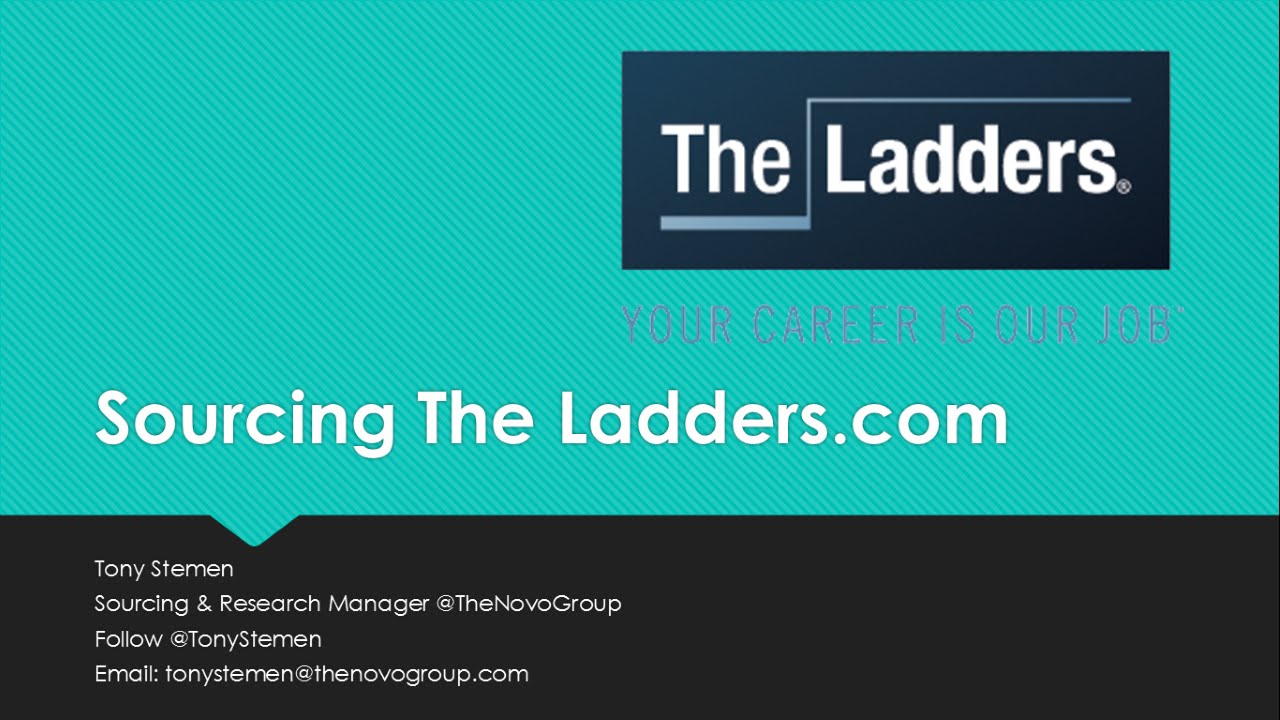 sourcing and search on theladderscom the ladders resume search