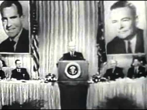 1960 U.S. Presidential Election Ad - Dwight Eisenhower for Richard Nixon