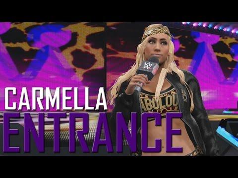 WWE 2K17: Carmella Entrance