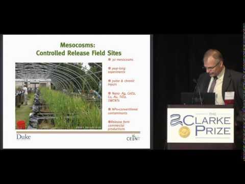 2014 Clarke Prize: Wiesner_Nanomaterial Behavior in Complex Environments