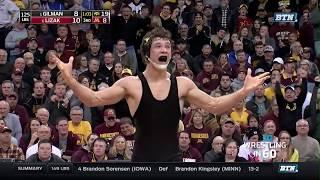 Wrestling in 60: 125 Pounds - Gilman vs. Lizak