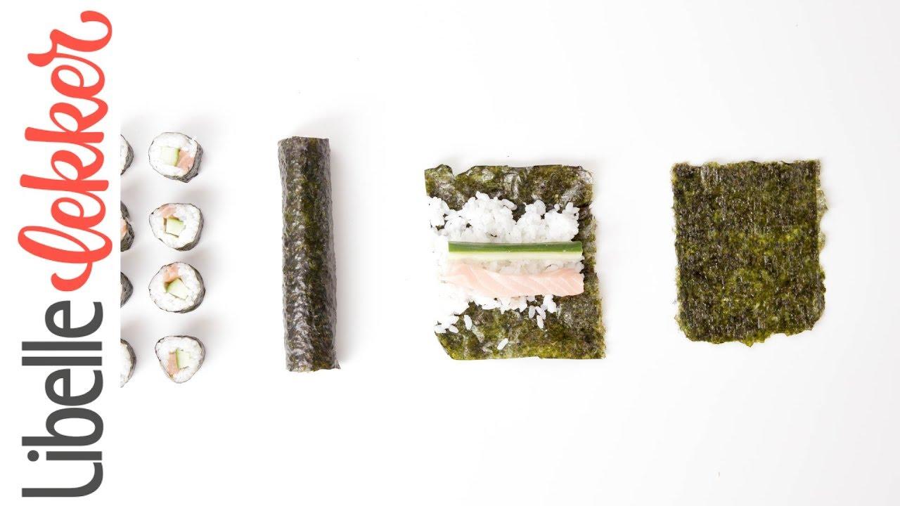 hoe rol je sushi