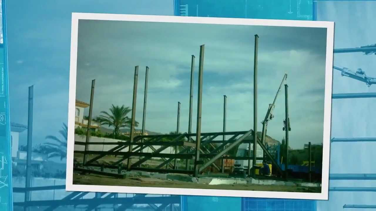 Estructura met lica de una casa youtube - Casa estructura metalica ...