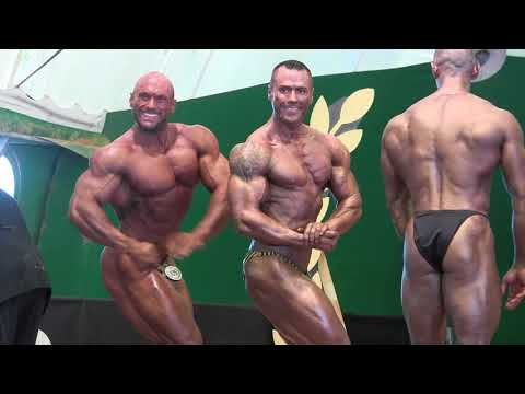 NABBA World 2018 - Men 1 Posedown