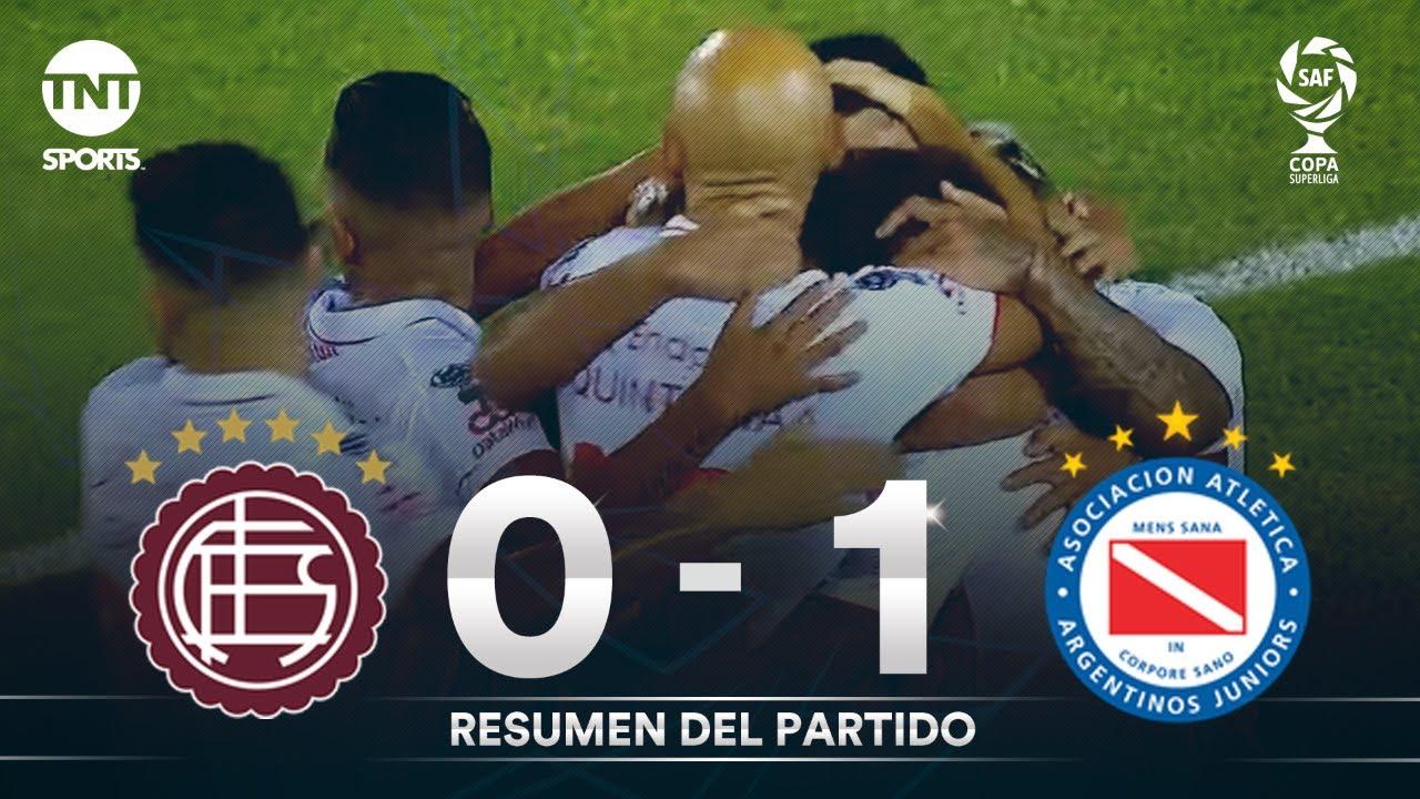 Resumen de Lanús vs Argentinos Juniors (0-1) | Zona 2 | Fecha 1 - Copa Superliga 2020