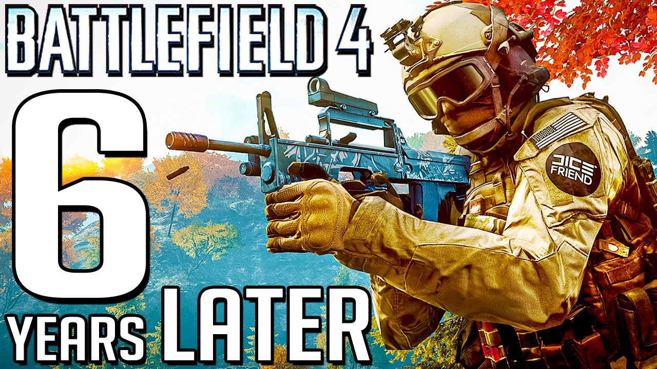 I went BACK to Battlefield 4 in LATE 2020... (so much pain) thumbnail