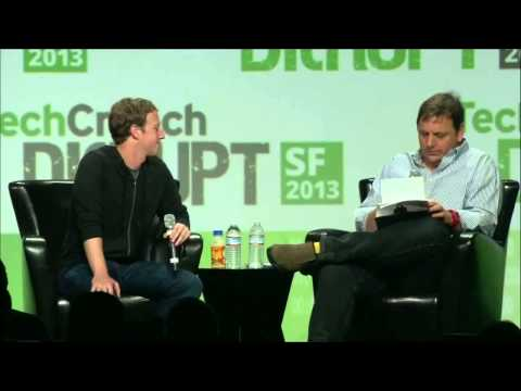 Funny Mark Zuckerberg/Michael Arrington clip - Disrupt SF 2013 - ae2ee