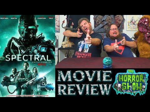 """""""Spectral"""" 2016 Netflix Action Horror Movie Review – The Horror Show"""