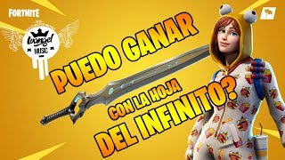 ¿PUEDO GANAR CON LA *NUEVA* ESPADA LEGENDARIA DE FORTNITE? | IVANGEL MUSIC