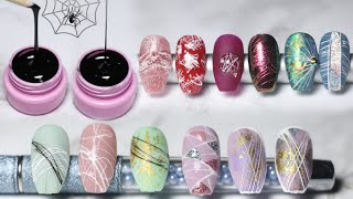 🕸️SPIDER GEL Nail Art Ideas