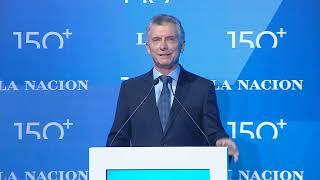 El presidente Macri participa del inicio de los festejos por los 150 años del diario La Nación