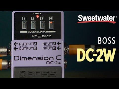 BOSS DC-2w Waza Craft Dimensional Chorus Pedal Review