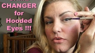Amazing Eyeliner trick f๐r HOODED EYES!