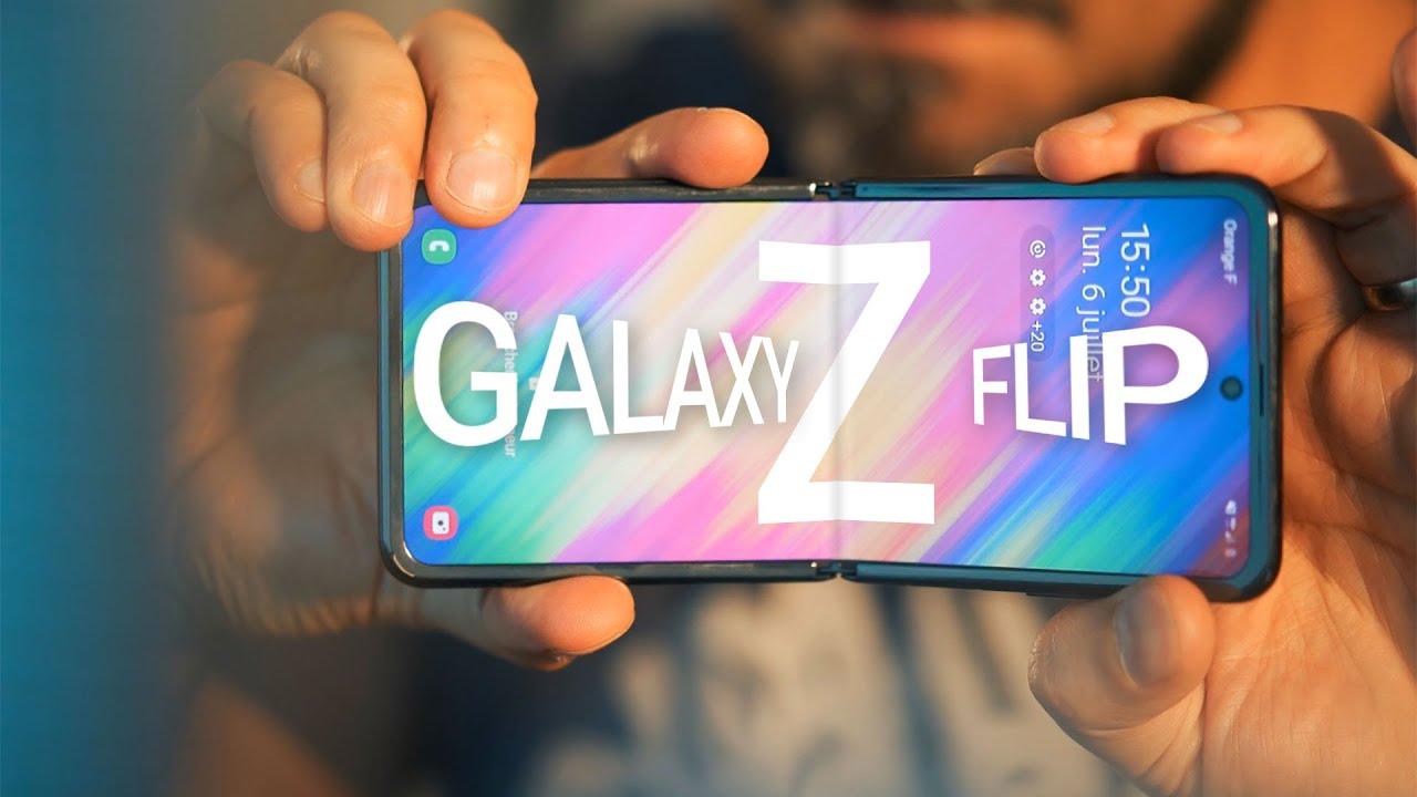 TEST du SAMSUNG GALAXY Z FLIP, le smartphone pliant que tout le monde attendait ?