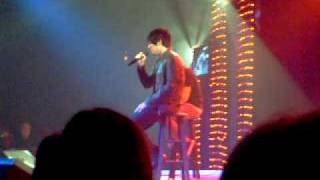 ADAM LAMBERT TRACKS OF MY TEARS AND MAD WORLD AT FORD DAY