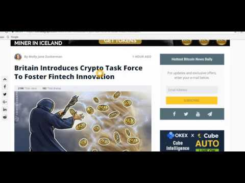 Latest Bitcoin / Crypto  News : Bank of England Cryptocurrencies should be regulated 22 march 2018