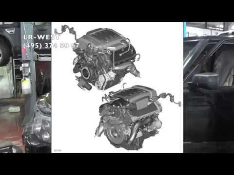 Бензиновый двигатель 4.4 AJ Рендж Ровер - течь через клапан VVT