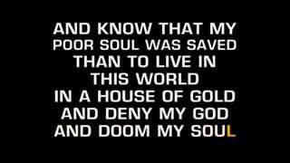 Hank Williams House Of Gold Karaoke