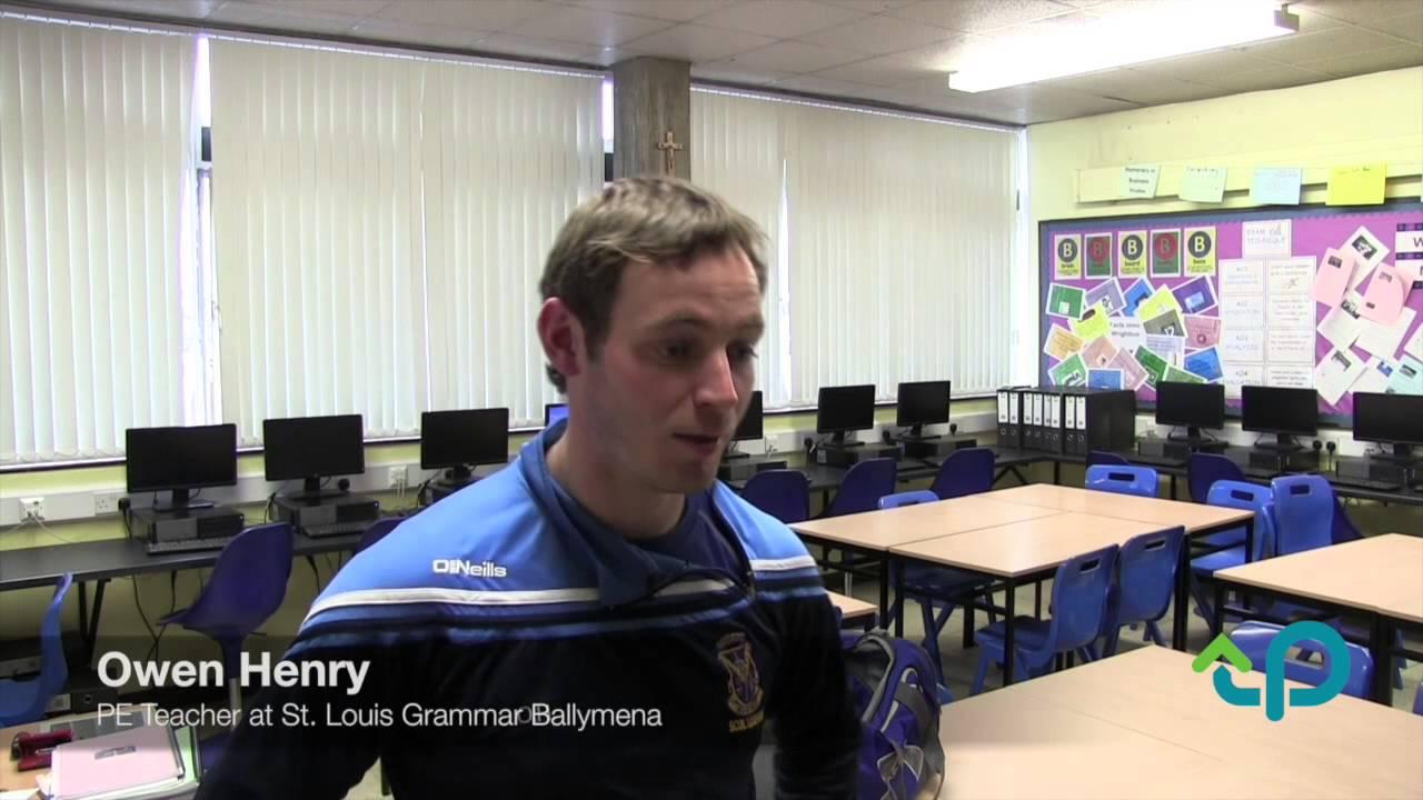 Sports Analysis and PE at St Louis Grammar School Ballymena - YouTube