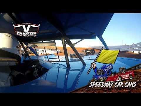#2 Terry Poore - Crate - #Grinch40 - 12-7-19 Volunteer Speedway - In-Car Camera