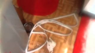 Výměna těsněni na lednici elektrolux dil. 3
