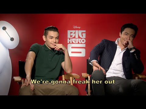 Big Hero 6: Ryan Potter and Daniel Henney   Bloopers