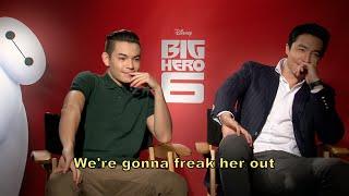 Video Big Hero 6: Ryan Potter and Daniel Henney Interview + Bloopers download MP3, 3GP, MP4, WEBM, AVI, FLV Juli 2018